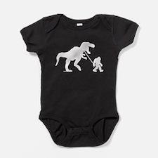 Gone Squatchin with T-rex Baby Bodysuit