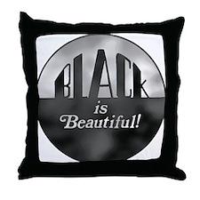 Black is Beautiful - Throw Pillow
