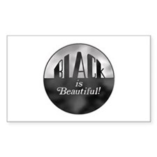 Black is Beautiful - Rectangle Decal