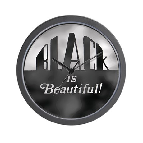 Black is Beautiful - Wall Clock