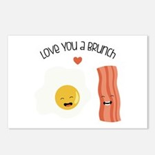 Love You A Brunch Postcards (Package of 8)