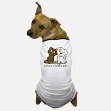 Unique Lucky lab Dog T-Shirt