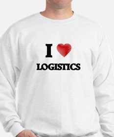 I Love Logistics Sweatshirt