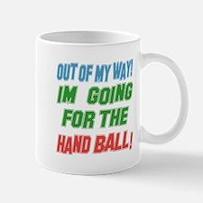 I'm going for the Hand ball Mug