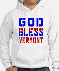 God Bless Vermont Hoodie