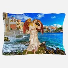 Water Angel Pillow Case