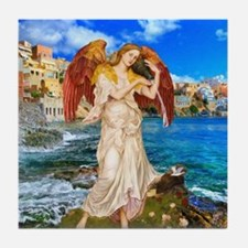 Water Angel Tile Coaster