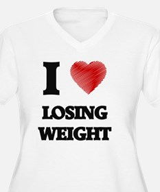 I Love Losing Weight Plus Size T-Shirt