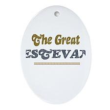 Estevan Oval Ornament
