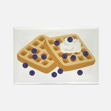 Blueberry Waffles Magnets