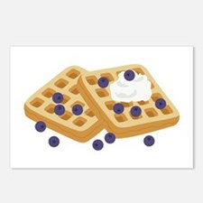 Blueberry Waffles Postcards (Package of 8)