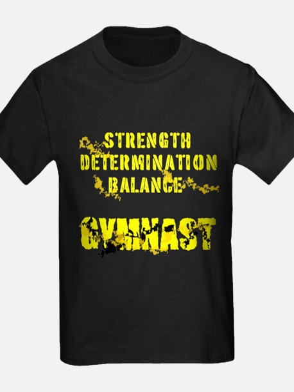 Basic Men's Gymnastics Fitted T-Shirt (dark)