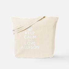 Cute Allyson Tote Bag