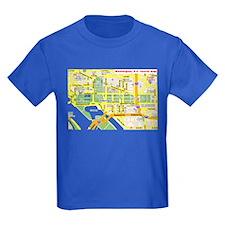 Washington, D.C. tourist map T