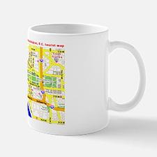 Washington, D.C. tourist map Mug