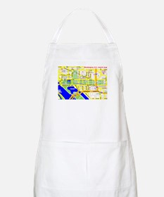 Washington, D.C. tourist map BBQ Apron