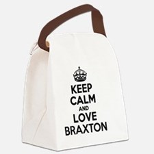 Cute Braxton Canvas Lunch Bag