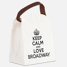 Unique Broadway Canvas Lunch Bag