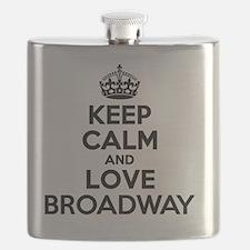 Unique Broadway Flask
