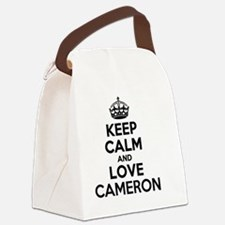 Unique Cameron Canvas Lunch Bag