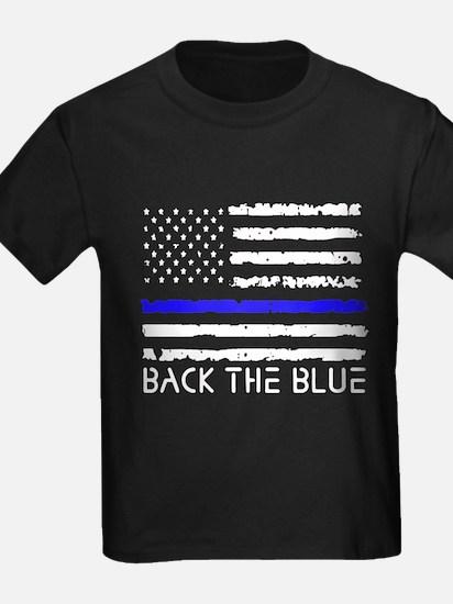 Back The Blue Thin Blue Line T-Shirt