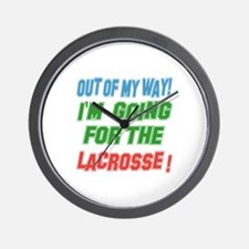 I'm going for the Lacrosse Wall Clock