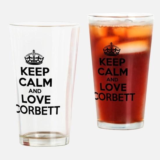 Unique Corbett Drinking Glass