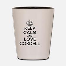 Cordell Shot Glass