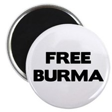 "Free Burma 2.25"" Magnet (100 pack)"