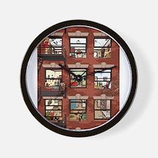 Apartments Wall Clock