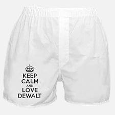 Cute Keep calm and love a sailor Boxer Shorts