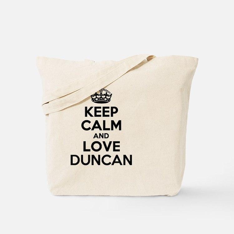 Cute Duncan Tote Bag
