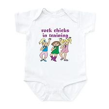 Rock Chicks In Training Infant Bodysuit