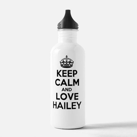 Cute Hailey Sports Water Bottle