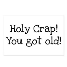 Holy Crap! You Got Old Postcards (Package of 8)
