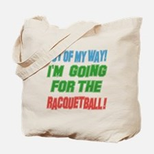 I'm going for the Racquetball Tote Bag