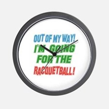 I'm going for the Racquetball Wall Clock