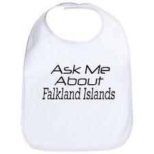 Ask Me About Falkland Islands Bib