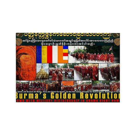 Burma's Golden Revolution ! Magnets