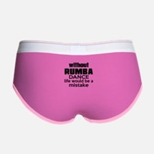 Awesome Rumba Dance Designs Women's Boy Brief