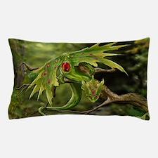 Ruby Leaf Dragon Pillow Case