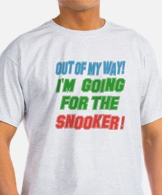 I'm going for the Snooker T-Shirt