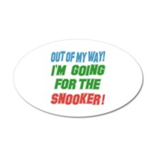 I'm going for the Snooker Wall Decal