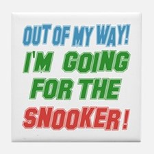 I'm going for the Snooker Tile Coaster
