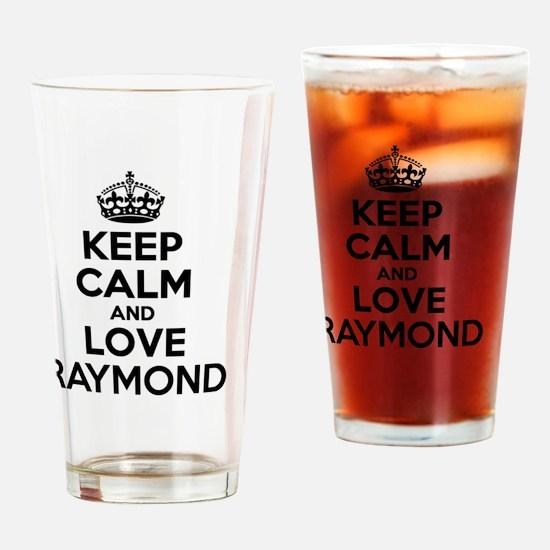 Cute Raymond Drinking Glass
