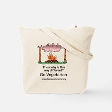 Go Vegetarian Tote Bag