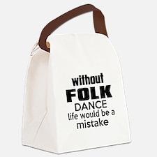 Awesome Folk Dance Designs Canvas Lunch Bag
