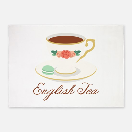 English Tea 5'x7'Area Rug
