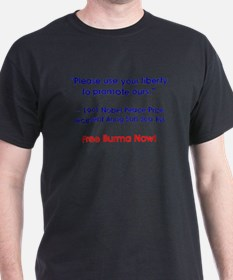 freeburmanow! T-Shirt