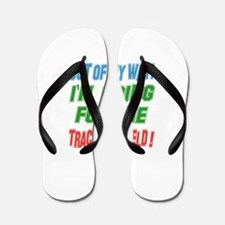 I'm going for the Track and Field Flip Flops